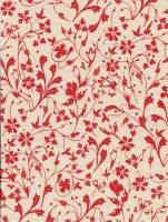 Fine Florals in Red - free to use by amberwillow