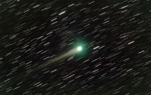 Comet Lulin by frenchbear