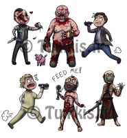 Outlast chibis by CPT-Elizaye