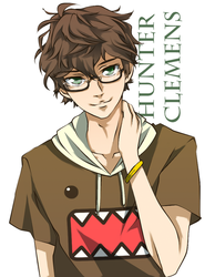 Vol 2 EXTRA - Hunter Clemens, Just A Typical Nerd by cup-drop