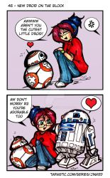 Jinxed 45 - New Droid on the Block by Hotaru-oz