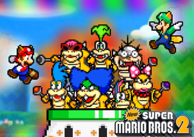 New Super Mario Bros.2: Attack of the Koopalings by FaisalAden