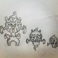 Mask Ghost Fakemon by IDAN487