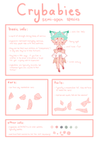 NEW Crybabies species reference! by kuro--cchi
