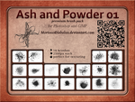 Ash and Powder brushes 01 by MortuusDiabolus