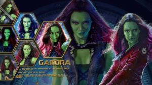 Gamora Honeycomb by Coley-sXe