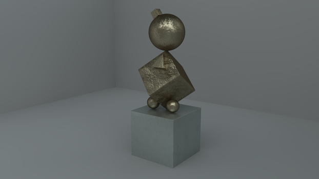 Bronze Shader - Simple Sculpture by BlockedGravity