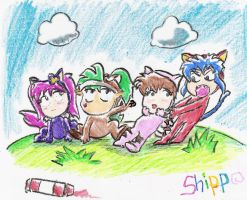 Shippo's Picture by Lint22