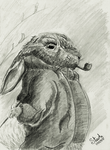 Mr Bunny by SulaimanDoodle