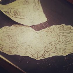 Chest design female chest plate by lilblueink