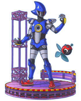 Metal Sonic the Replica by spoonyliger