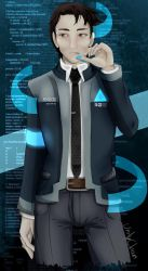 Connor Detroit become Human by theWhiteDEVIL66