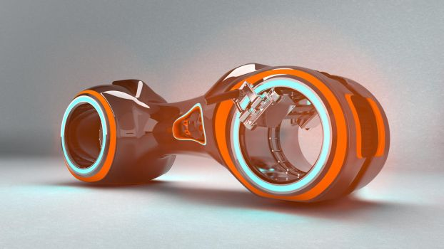 Tron cycle wip by iskander71