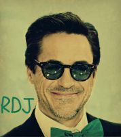 Robert Downey Jr by Skiebear