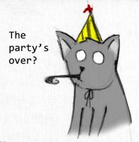 The party is over by ArceDeer