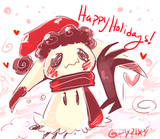 Happy Holidays by Pypixy