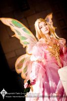 The Pink Masquerade Fairy by Firefly-Path