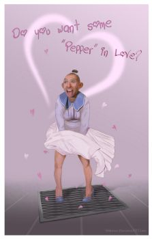 Valentine's Day Card (Pepper) by Hekmer