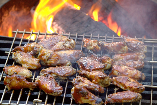 wood fired bbq chicken by ElectricSam