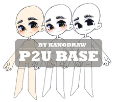 Chibi P2U Base/Lineart by amepan