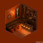 Bar by Isometry3D