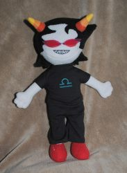 Terezi Plushie by Eyes5