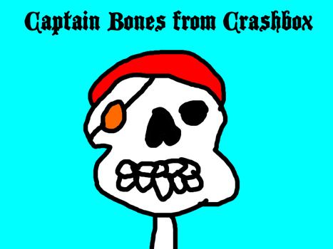 Captain Bones from Crashbox by MikeJEddyNSGamer89