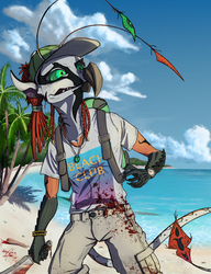 Souvillaine: Dead Vacation [Homage to Dead Island] by DeadBird-Hushabye
