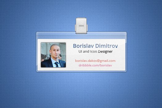 ID Badge by borislav-dakov