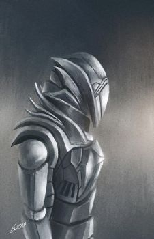Armoric Knight by AbstractLuva