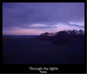 Through the lights by kilou