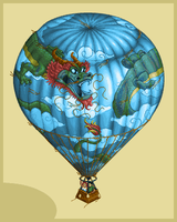 Hot Air Balloon by jalonso