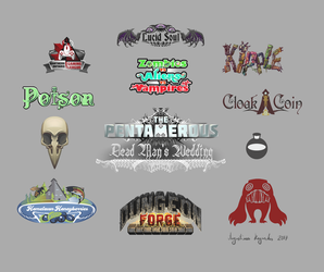 A Delicious Selection of Logos by AugustinasRaginskis