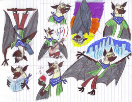 Zootopia OC Fruit Bat by Ready2Create