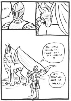 24h Comic 2014: A Dragon's Tale p.13 by SaxonVoter