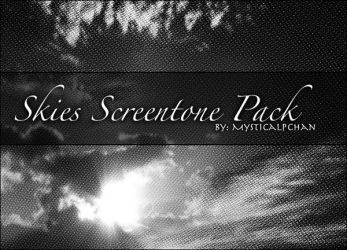 Skies Screentone Pack by Mysticalpchan