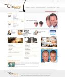 elit world hair trans web design by MesutASLAN