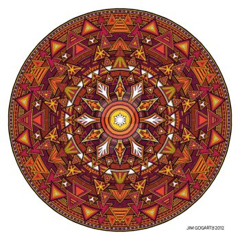 Mandala 44 coloured 1.0 by Mandala-Jim