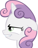 Sinister Sweetie Belle by Toastdeib