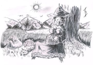Witchy Things 3: Sleep Like A Cat... (Preg) by SV-Writer