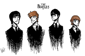 The Beatles by W-O-T-A-N