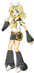 Rin Kagamine Adoptable by Melody-Musique