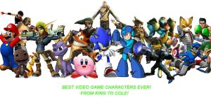 Best VideoGame Characters Ever by PacDuck