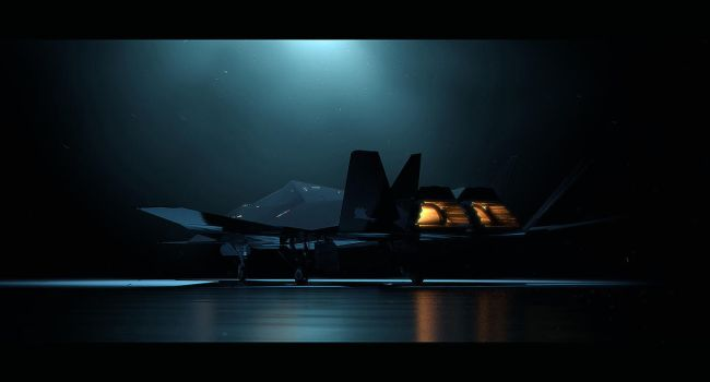 XF-77 'Crow' - Stealth Plane by Hideyoshi