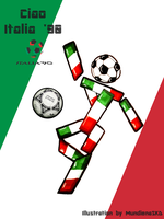 .:World Cup Mascots:. Ciao by MundienaSKD