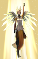 Lily commission- mercy by c-e-p-h