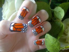 Orange Butterfly by KayleighOC