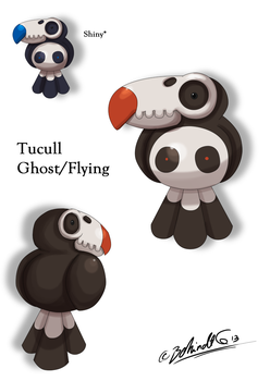 Fakemon - Tucull by TamarinFrog