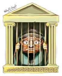15 The ugly wiseman has got imprisoned by Noha-ElGendi