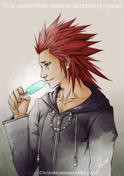 Kingdom Hearts - Axel by ChristAll